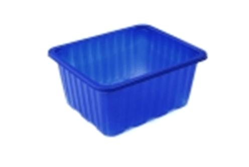 Синий пластиковый стаканчик 500 г