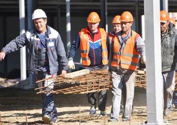 """Строительство грибного комплекса """"Богородские овощи"""""""